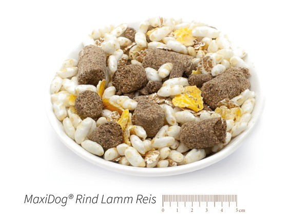 cibo cani secco crocchette reico maxidog rind lamm reis • Cuccioli&Crocchette, Reico Partner | Sano. Naturale. Minerale.