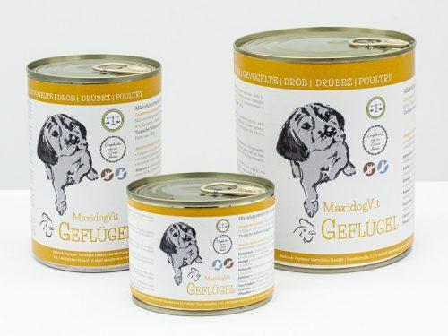 cibo cani umido reico maxidog geflugel pollame • Cuccioli&Crocchette, Reico Partner | Sano. Naturale. Minerale.