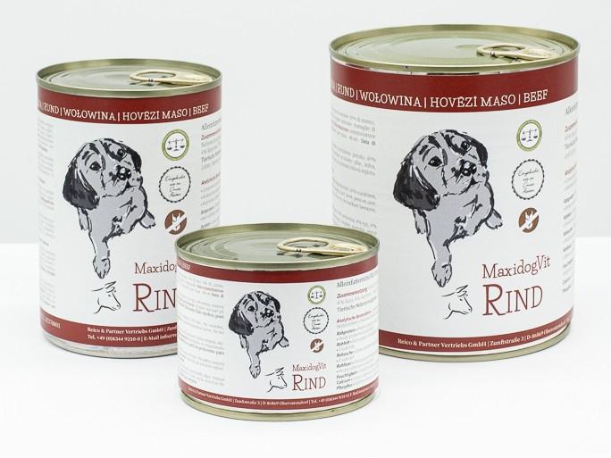 cibo cani umido reico maxidog rind manzo • Cuccioli e Crocchette, Reico Partner   Sano. Naturale. Minerale.