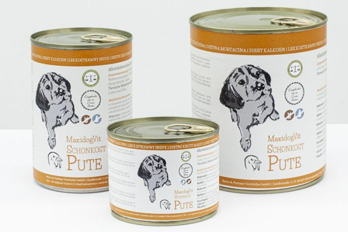 cibo cani umido reico maxidogvit schonkost pute tacchino • Cuccioli&Crocchette, Reico Partner | Sano. Naturale. Minerale.