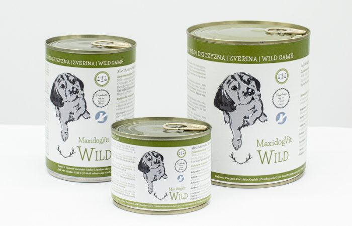 cibo cani umido reico maxidogvit wild selvaggina • Cuccioli e Crocchette, Reico Partner   Sano. Naturale. Minerale.