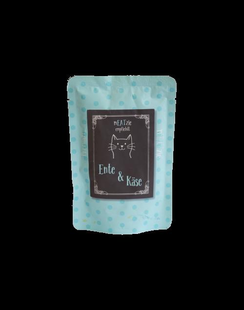 cibo gatti umido reico mEATzie ente kase anatra formaggio • Cuccioli e Crocchette, Reico Partner | Sano. Naturale. Minerale.
