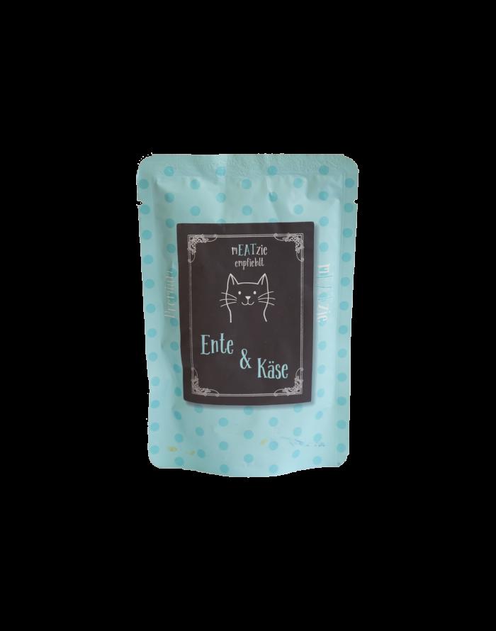 cibo gatti umido reico mEATzie ente kase anatra formaggio • Cuccioli&Crocchette, Reico Partner | Sano. Naturale. Minerale.
