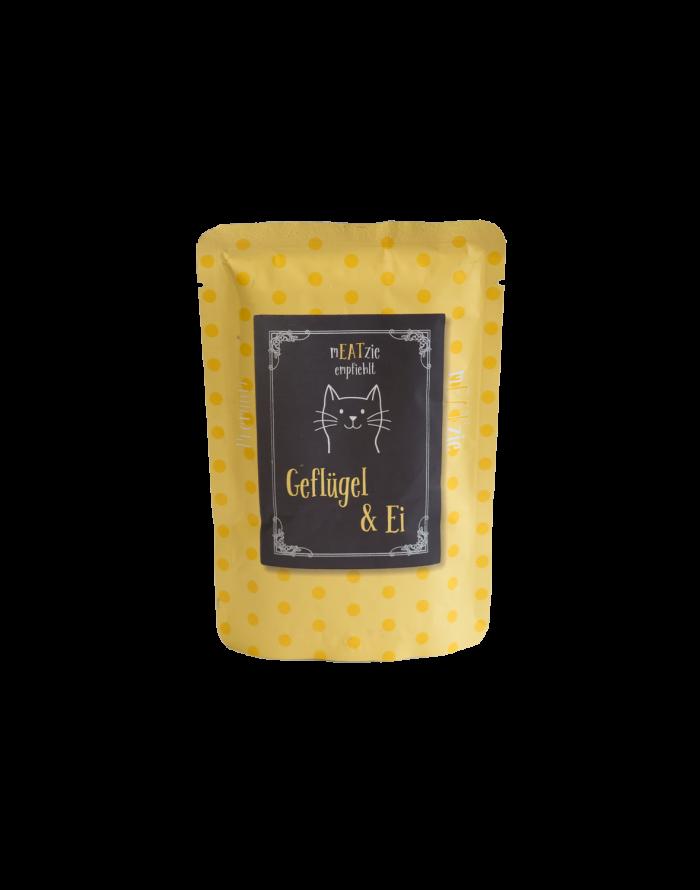 cibo gatti umido reico mEATzie gefluger ei pollame uovo • Cuccioli e Crocchette, Reico Partner | Sano. Naturale. Minerale.