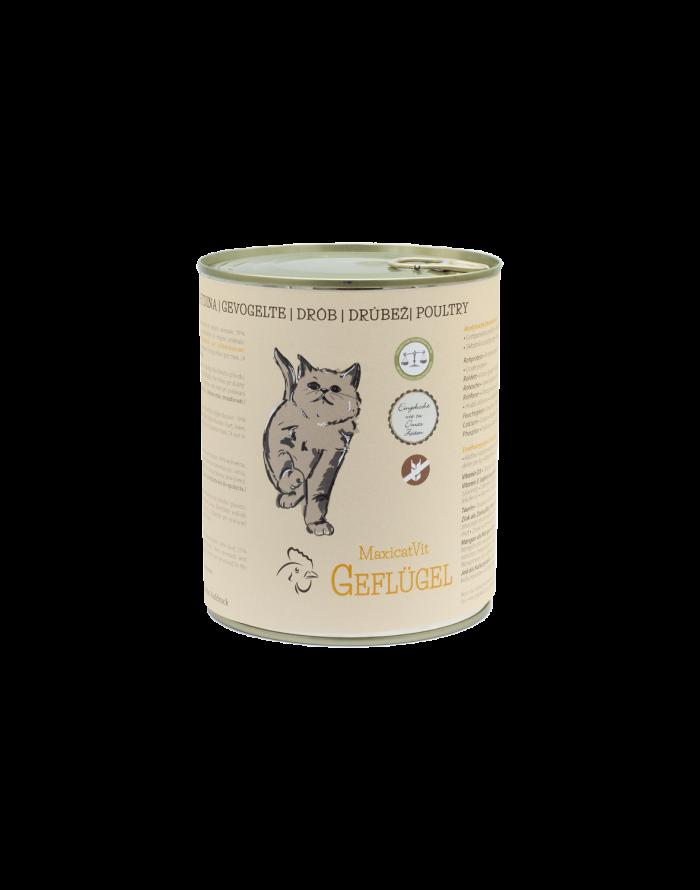 cibo gatti umido reico maxicatvit geflugel pollame • Cuccioli e Crocchette, Reico Partner | Sano. Naturale. Minerale.