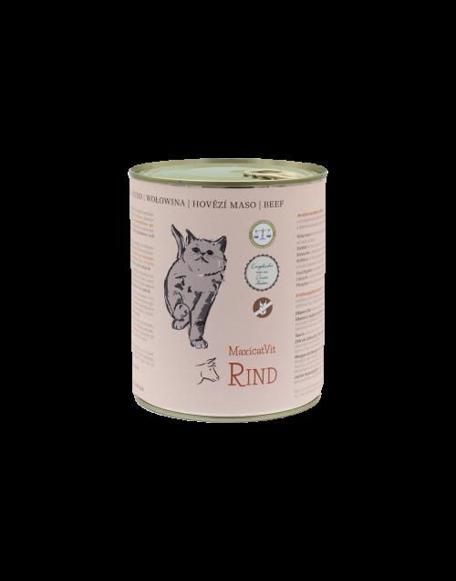 cibo gatti umido reico maxicatvit rind manzo • Cuccioli e Crocchette, Reico Partner | Sano. Naturale. Minerale.