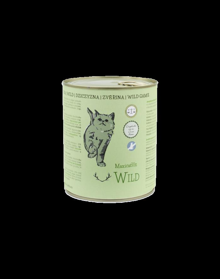 cibo gatti umido reico maxicatvit wild selvaggina • Cuccioli e Crocchette, Reico Partner | Sano. Naturale. Minerale.
