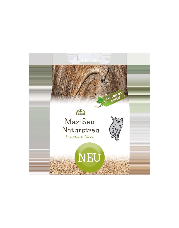 maxisan-naturstreu lettiera naturale per gatti aggolmerante