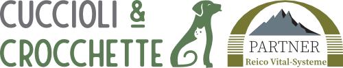 Cuccioli e Crocchette, Reico Partner | Sano. Naturale. Minerale. Logo